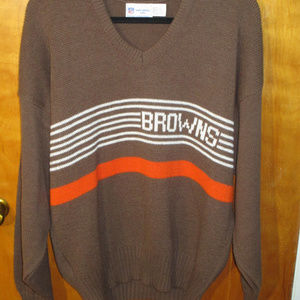 Vintage NFL Cliff Engle Cleveland Browns Sweater